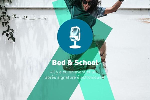Bed & School